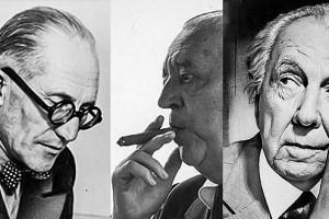 Le+Corbusier,+Mies+van+der+Rohe+y+Frank+Lloyd+Wright