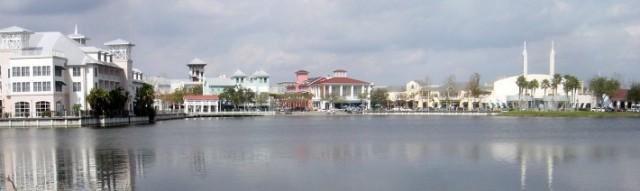 Waterfront of Celebration, Fla., plan designed by RAMSA
