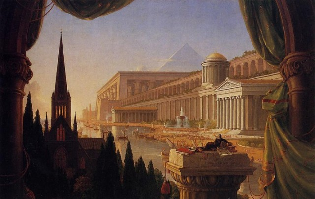 """The Architect's Dream"" (1840), by Thomas Cole. (wikipedia.org)"