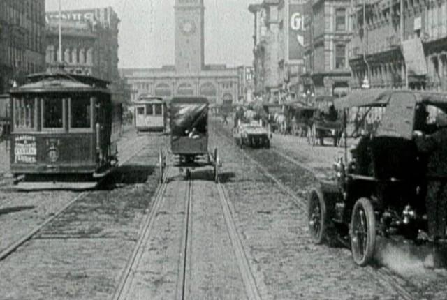 Market Street in San Franciso, in 1906. (