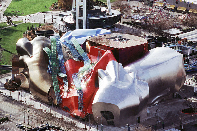 Experience Music Project, in Seattle. (wikipedia.com)