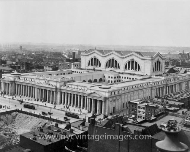 Pennsylvania Station. (nycvintageimages.com)