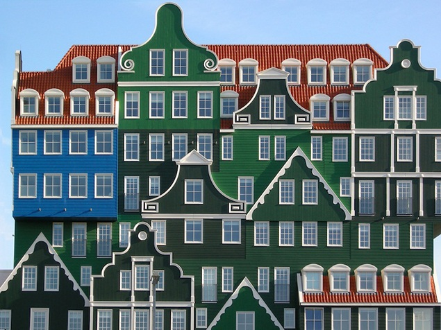 Hotel in Zaandam, Neth., by WAP Architects (Architectural Review)
