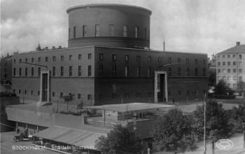 Gunnar Apslund's Stockholm Library