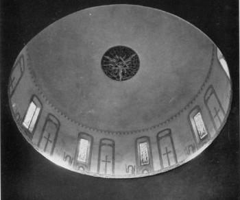Trinity Baptist, ceiling