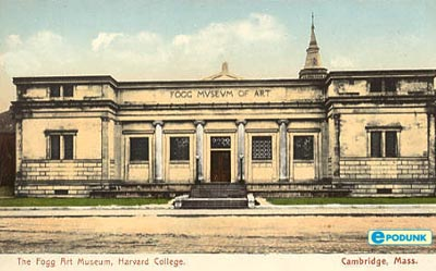 Original Fogg Museum (1896), by Richard Morris Hunt. (epodunk.com)