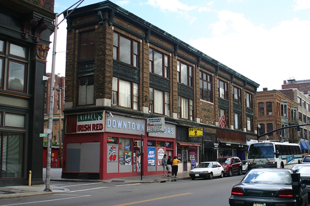The Arnold Block before its fire. (forum.skyscraperpage.com)