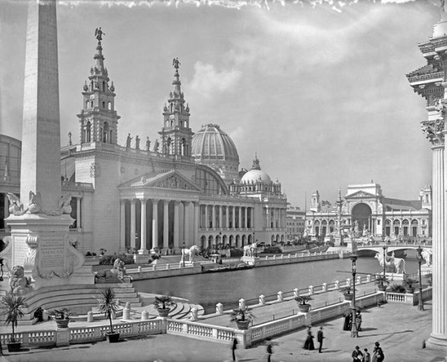 The White City at the World's Columbian Exposition, ;in 1893, in Chicago. (Wikimedia Commons)