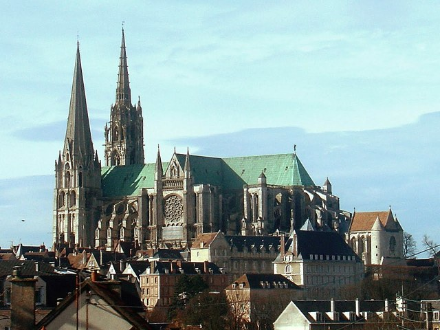 Chartres Cathedral, in France. (contentfy.com)