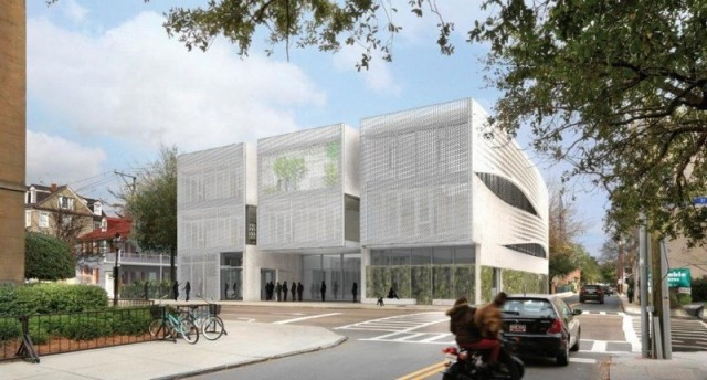 The School of Architecture building proposed by Clemson for Charleston's historic district.