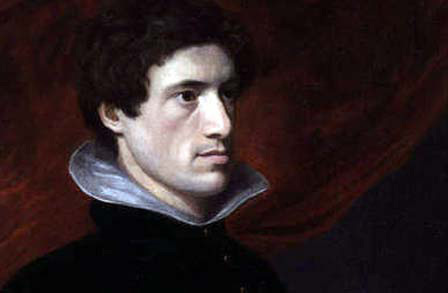 Portrait of Charles Lamb by his friend and fellow essayist William Hazlitt.
