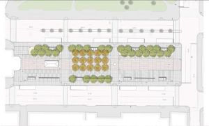 Plan of latest Kennedy Plaza design. (City of Providence)