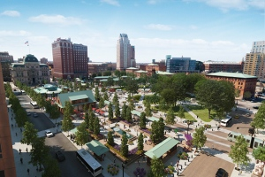 Union Studios design for Kennedy Plaza, 2013. (Union Studios)