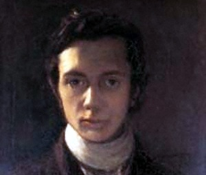 William Hazlit, self-portrait.