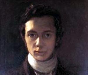 William Hazlit, self-portrait.