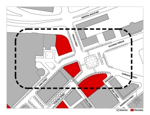 DPZ plan for Emmett Square. (DPZ)