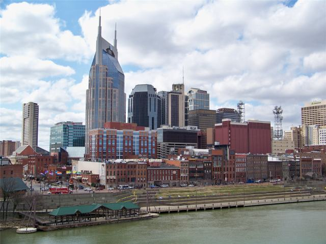 The skyline of Nashville. (globeimages.com)
