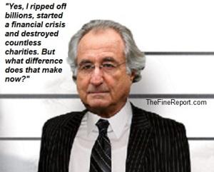 Bernie Madoff. (thefinereport.com)