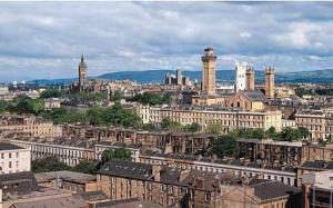 Glasgow, Scotland's largest city. (telegraph.co.uk)