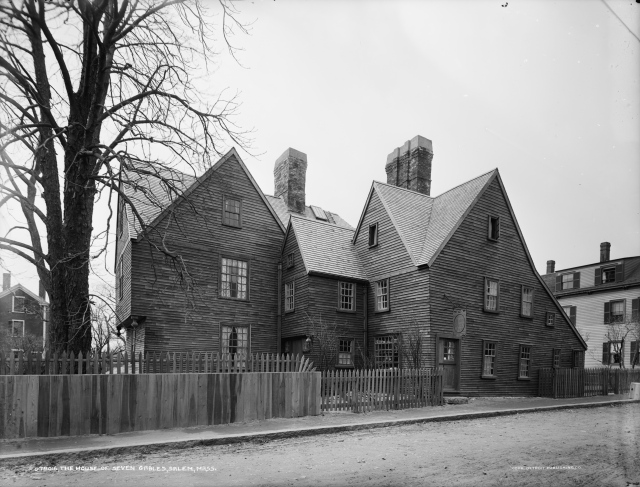Salem's fabled House of Seven Gables, in 1915, the year of Henry Hope Reed's birth. (Wikipedia)