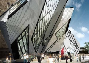 Royal Ontario Museum, by deconstructivist Daniel Libeskind. (e-architect.co.uk)