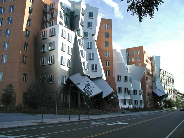 The Stata Center at the Massachusetts Institute of Technology, in Cambridge. (en.wikipedia.org)
