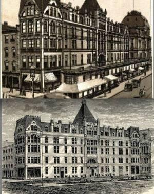 Postcards of old Hotel Dorrance. (Larry DePetrillo)