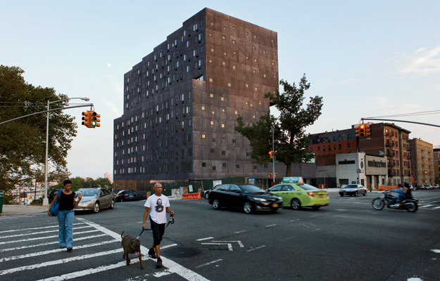 Sugar Hill housing project by David Adjaye. (Architectural Record)