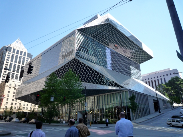 Seattle Public Library, by Rem Koolhaas. (