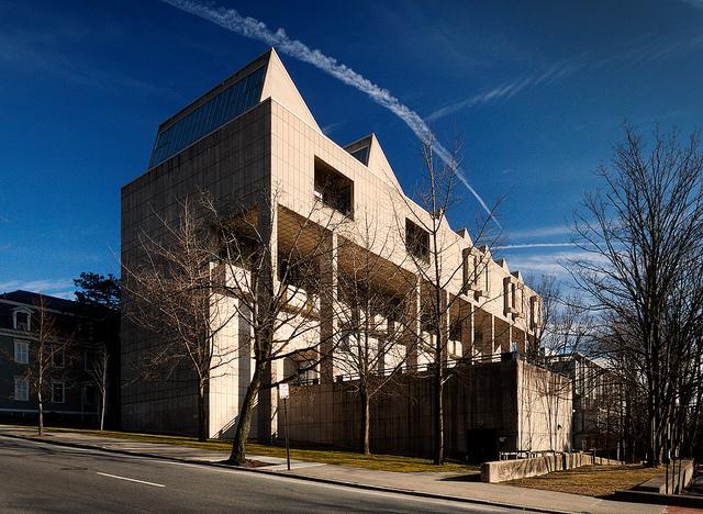 List Art Center (1971) at Brown University, by Philip Johnson. (flickr.com)
