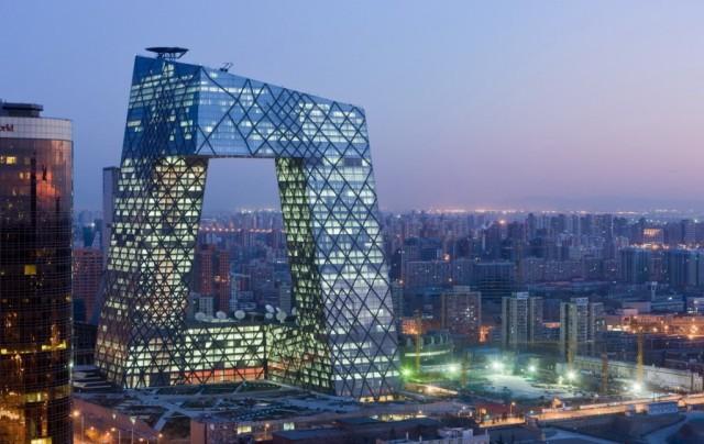 CCTV headquarters in Beijing. (curbed.com)