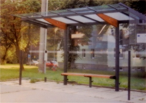 Bus waiting shelter planned for Kennedy Plaza. (RIPTA)