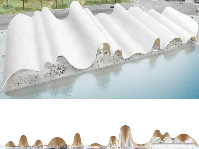 An entry in the design contest for the proposed Guggenheim Helsinki.