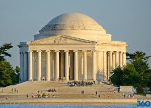 Jefferson Memorial. (destination360.com)