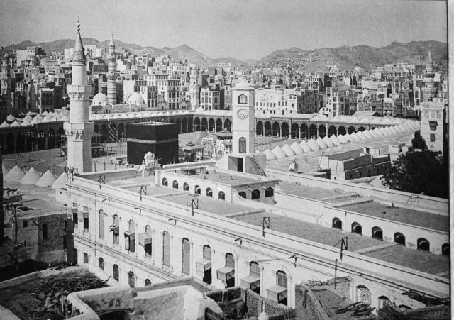 Mecca, Saudi Arabia, in 1951. (mic.com)