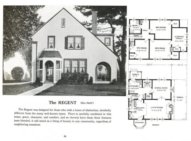 A house from the Sears & Roebuck catalogue.