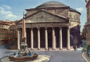 The Pantheon in Rome. :(globeriders.wordpress.com)