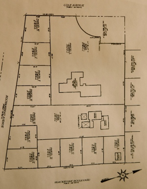 Latest plan for subdivision of Granoff estate. (City Planning)