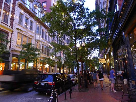Revitalized Westminster Street in downtown Providence. (tripadvisor.com)