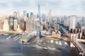 Project to replace South Street Seaport. (SHoP Architects)
