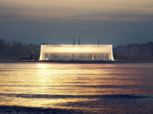 One of six finalists in the Guggenheim Helsinki contest. (Guggenheim Foundation)
