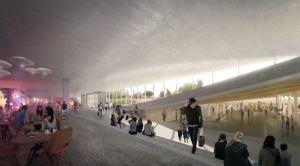 Modernism popping up in BIG plan. (BIG/Smithsonian)