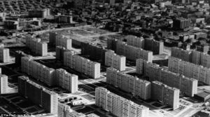 Pruitt-Igoe upon completion in 1956. (dailymail.co.uk)
