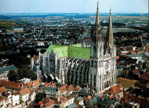 Chartres Cathedral. (lifeofanarchitect.com)