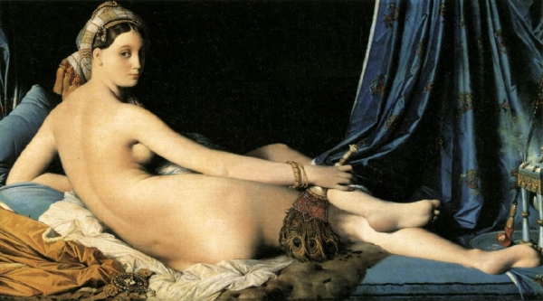 """La Grande Odalisque,"" by Ingres,"