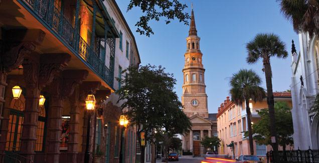 Charleston's historic district. (charlestoncvb.com)