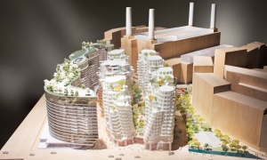 Battersea proposals by Norman Foster and Frank Gehry. (Gehry Partners)