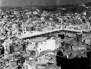 Mecca in the early '60s. (aswjmedia.com.au)