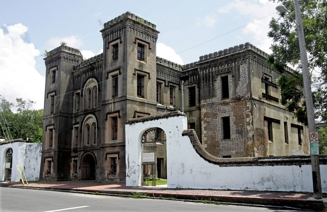 Historic jail from which American College of the Building Arts will soon escape. (Charleston Post and Courier)