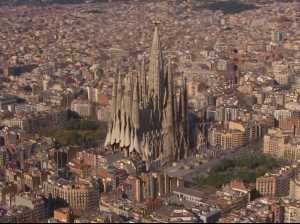 La Sagrada Familia, in Barcelona. (businessinsider.com)